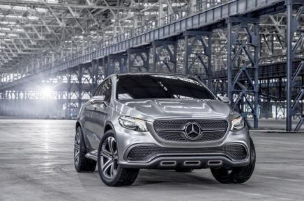 Konsept: Mercedes-Benz Concept CoupéSUV