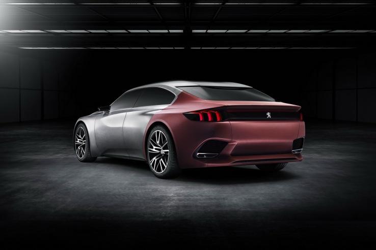 Peugeot Exalt Konsepti Arka