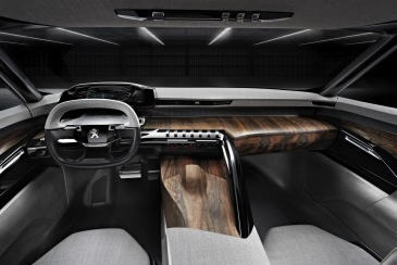 Peugeot Exalt Konsepti İç