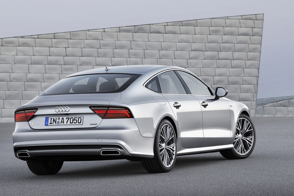Audi A7 Sportback Arka