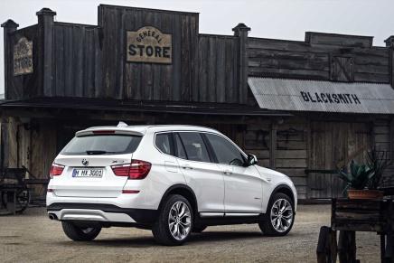 Haber: Makyajlı BMW X3Göründü