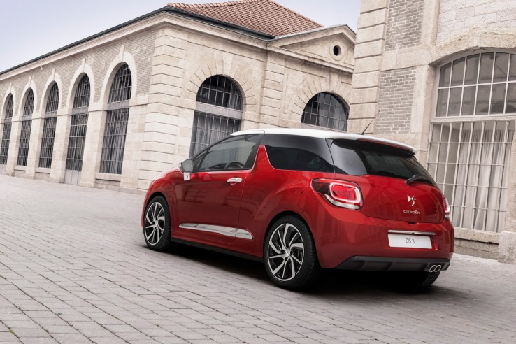 Citroen DS3 Arka