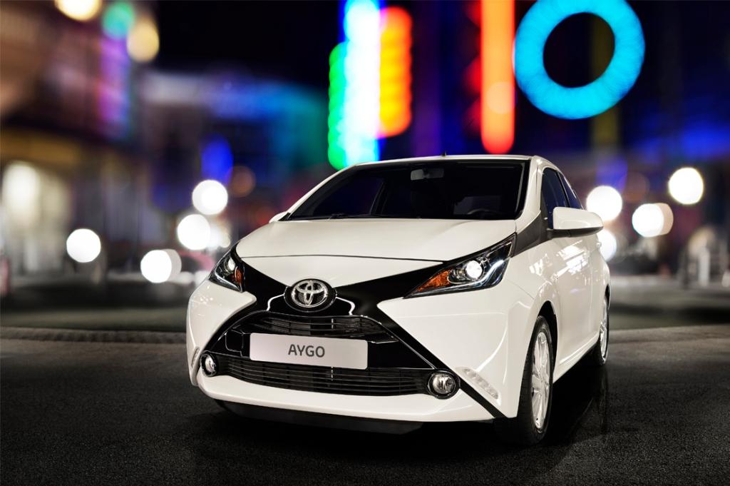 Toyota Aygo Ön