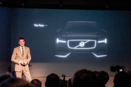 Volvo Concept Coupe tanıtım etkinliği sırasında XC90'ın bazı resimlerini göstermişti.
