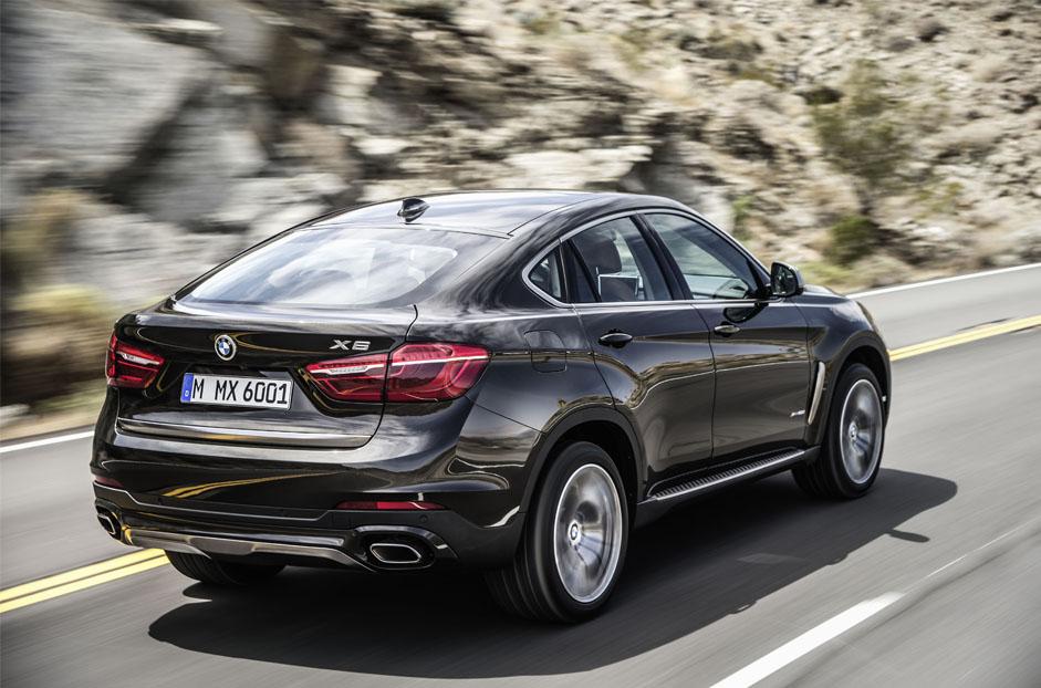 BMW X6 Arka