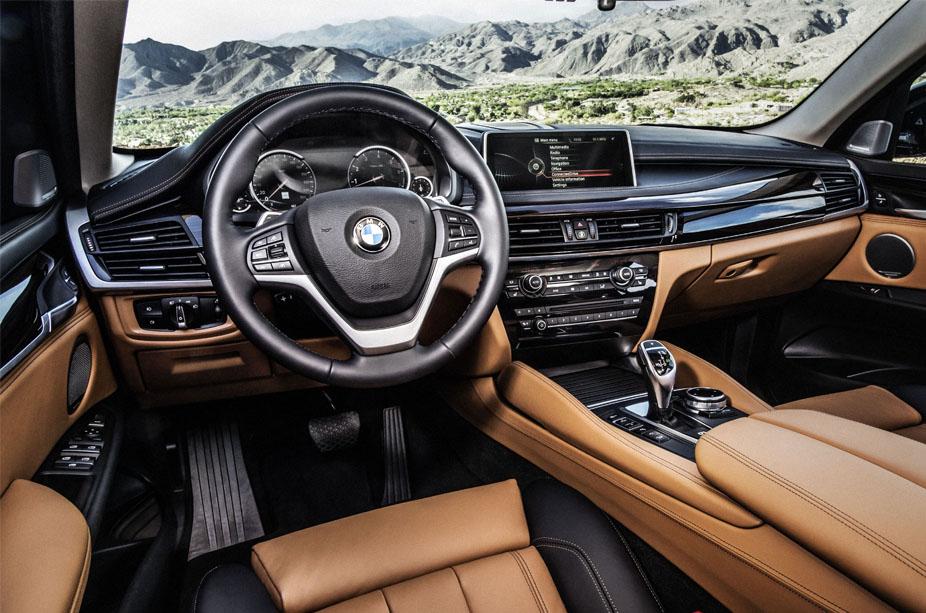 BMW X6 İç