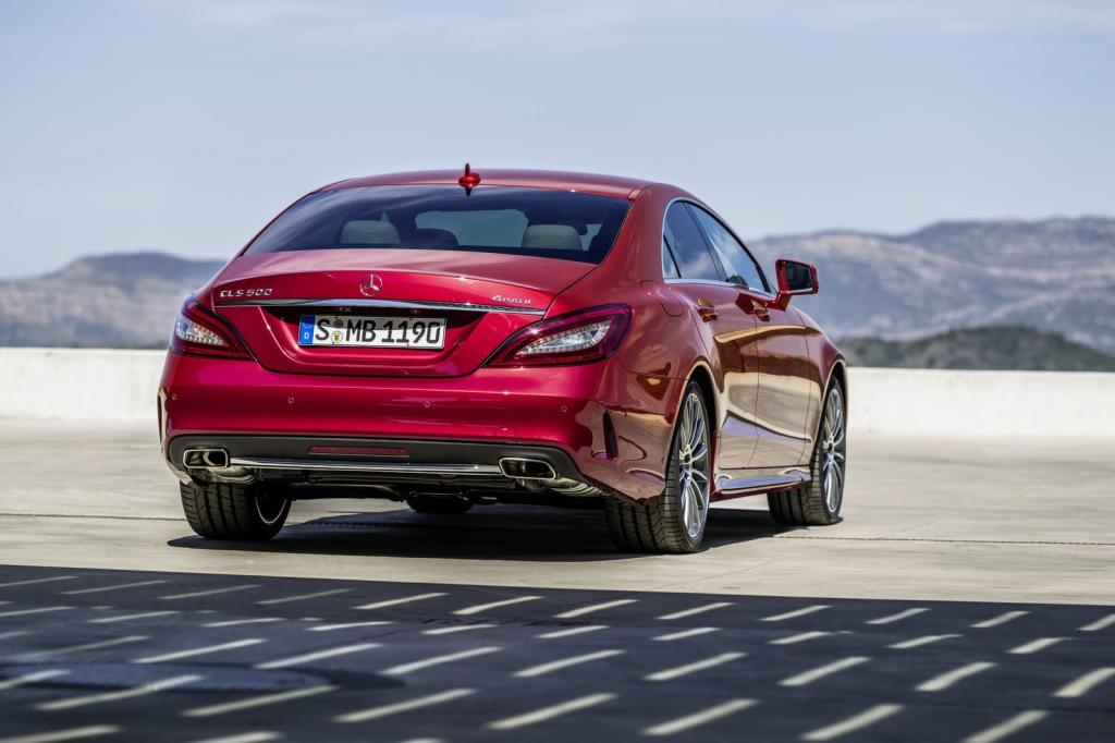 Mercedes-Benz CLS Arka