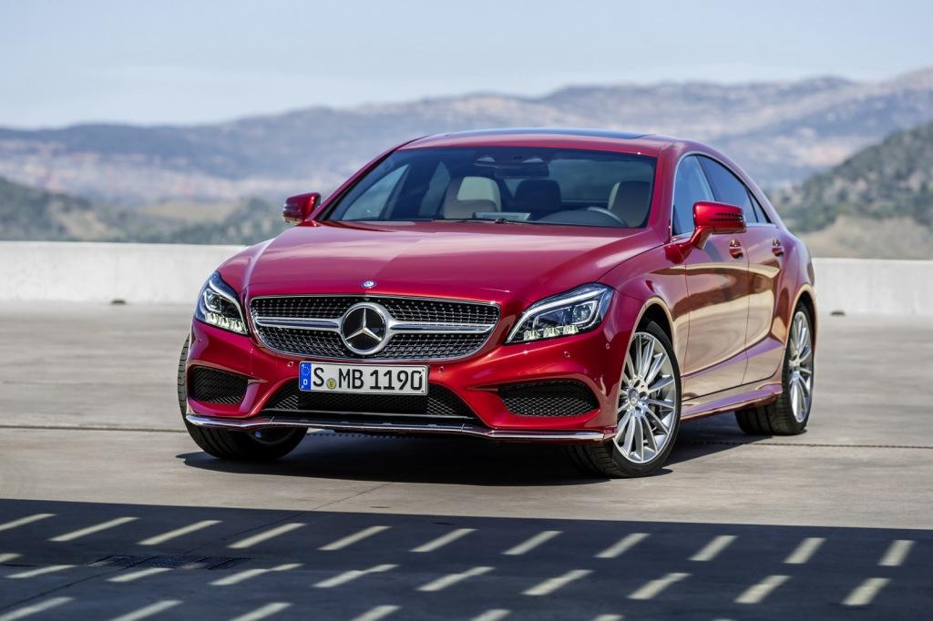 Mercedes-Benz CLS Ön