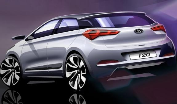 Hyundai i20 Eskiz Arka