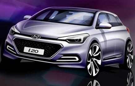 Haber: Yeni Hyundai i20'nin EskizleriYayınlandı