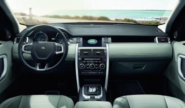 Land Rover Discovery Sport İç