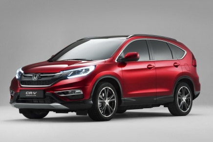 Haber: Makyajlı Honda CR-V, Prototip OlarakSahnede
