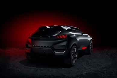 Peugeot Quartz Arka