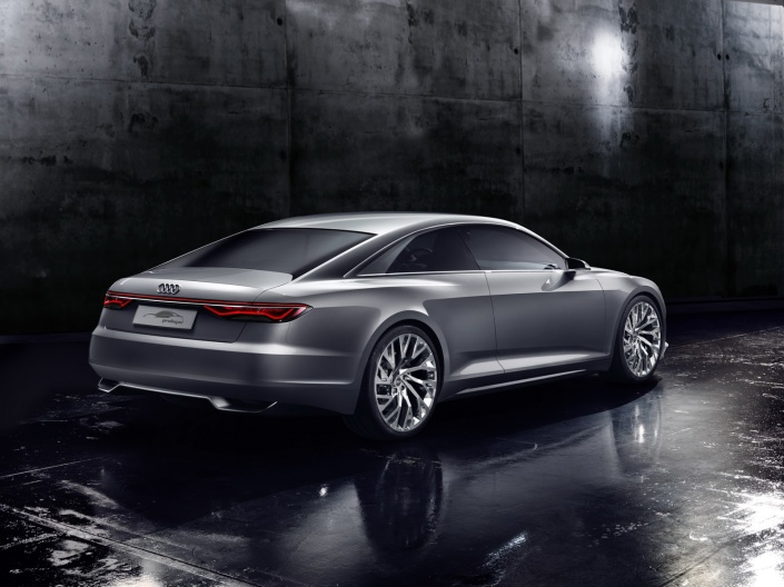Audi Prologue Konsepti Arka