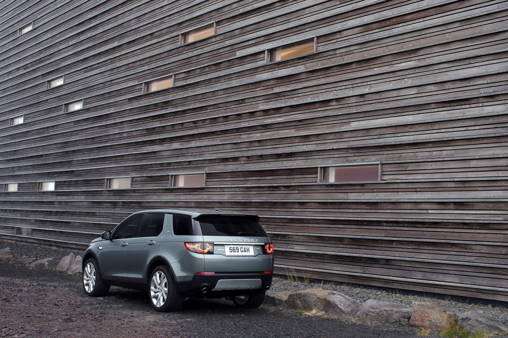 Land Rover Discovery Sport Arka