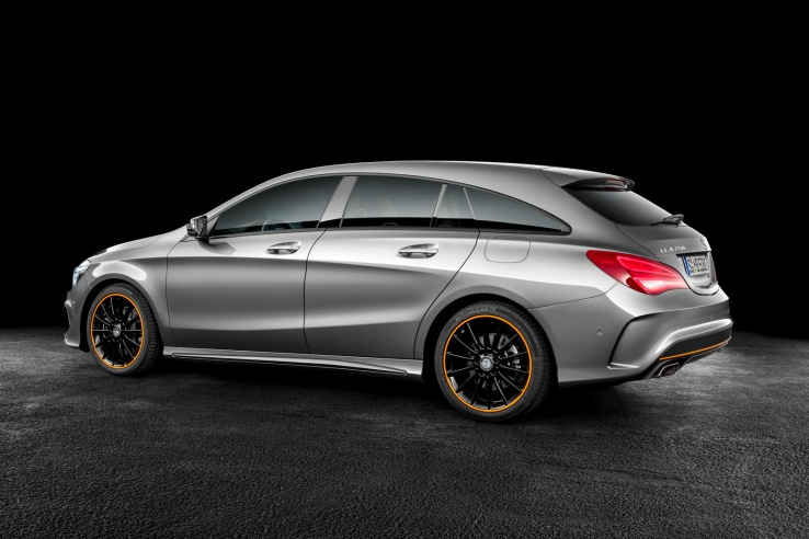 Mercedes-Benz CLA-Serisi Shooting Brake Arka