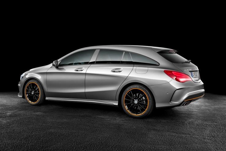 Mercedes-Benz CLA-Serisi Shooting Brake Arka