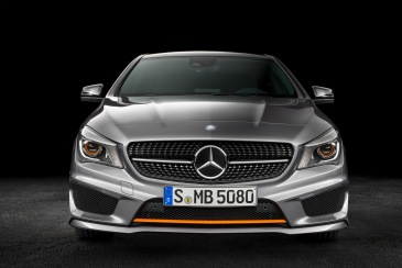 Mercedes-Benz CLA-Serisi Shooting Brake Ön