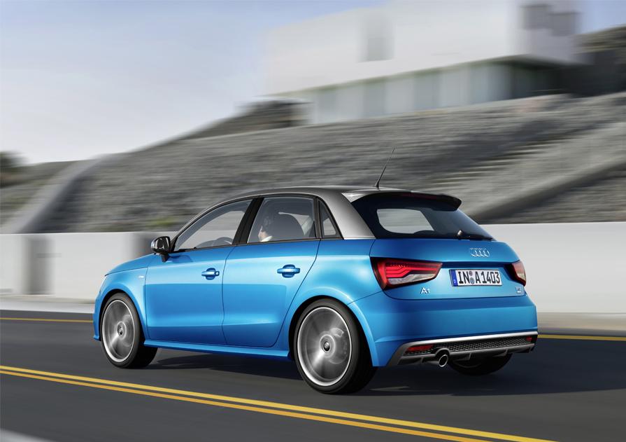 Audi A1 Sportback Arka