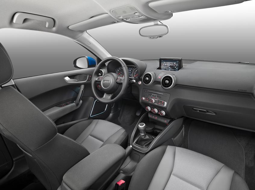 Audi A1 Sportback İç