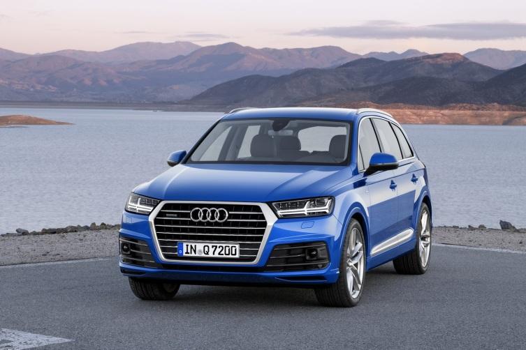 Audi Q7 Ön