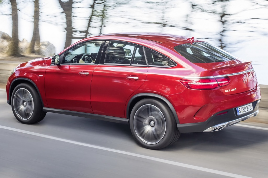Mercedes-Benz GLE Coupe Arka