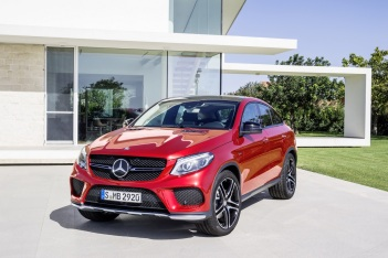 Mercedes-Benz GLE Coupe Ön