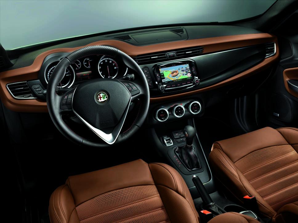 Alfa Romeo Giulietta İç