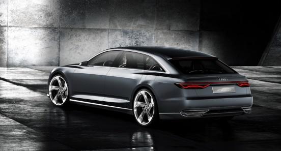 Audi Prologue Avant Konsepti Arka