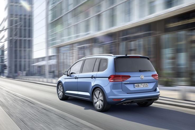 Volkswagen Touran Arka