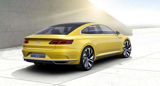 Volkswagen Sport Coupe Concept Arka