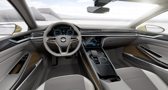 Volkswagen Sport Coupe Concept İç
