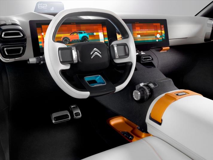 Citroen Aircross Konsepti İç 2