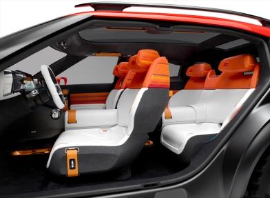 Citroen Aircross Konsepti İç