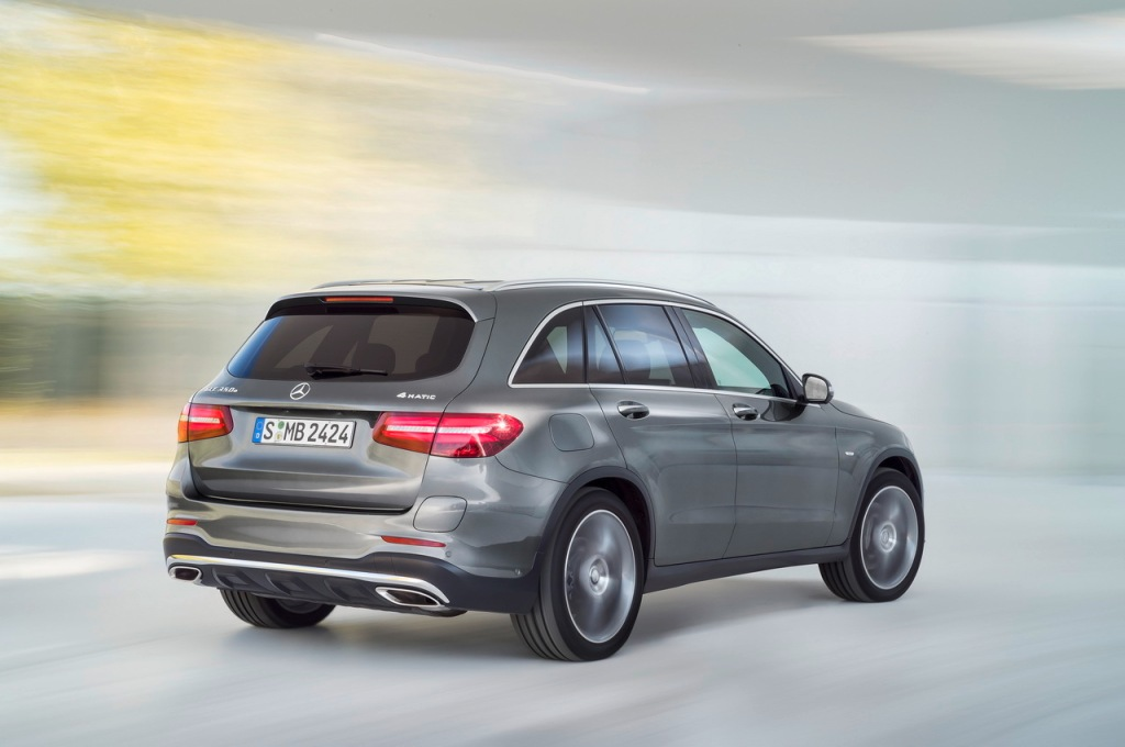 Mercedes-Benz GLC Arka