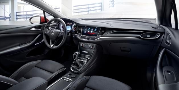 Opel Astra İç
