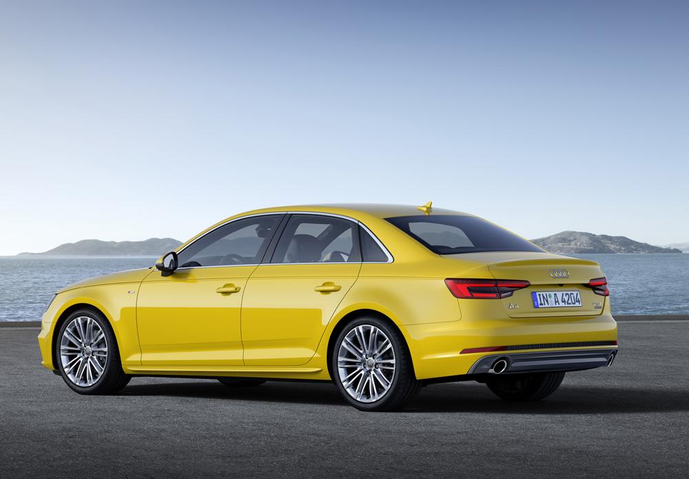 Audi A4 Arka 0