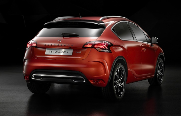 DS 4 Crossback Arka