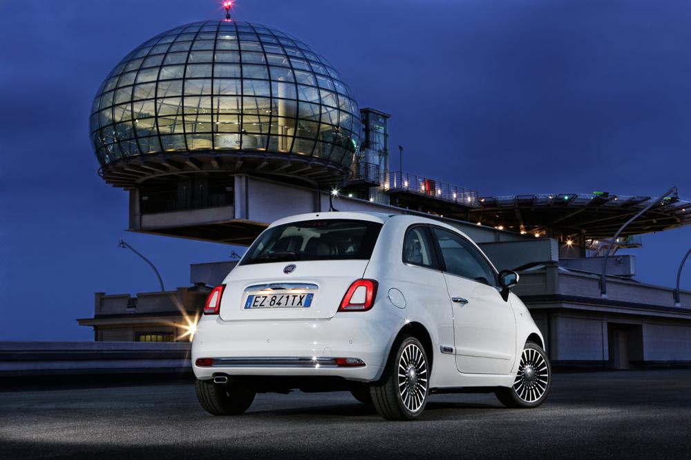 Fiat 500 Arka