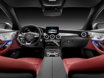 Mercedes-Benz C-Serisi Coupe İç