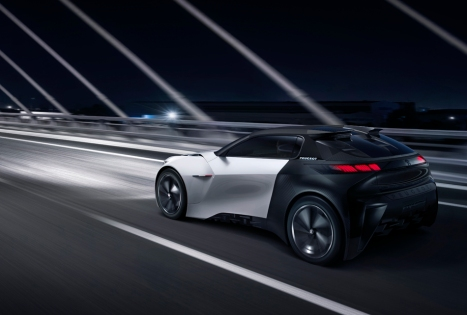 Peugeot Fractal Konsepti Arka