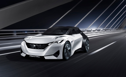 Konsept: Peugeot Fractal