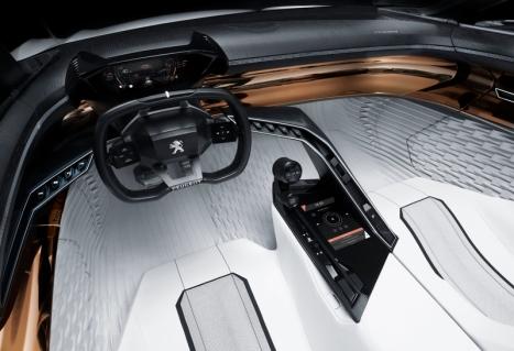 Peugeot Fractal Konsepti İç 2