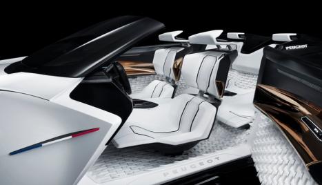 Peugeot Fractal Konsepti İç