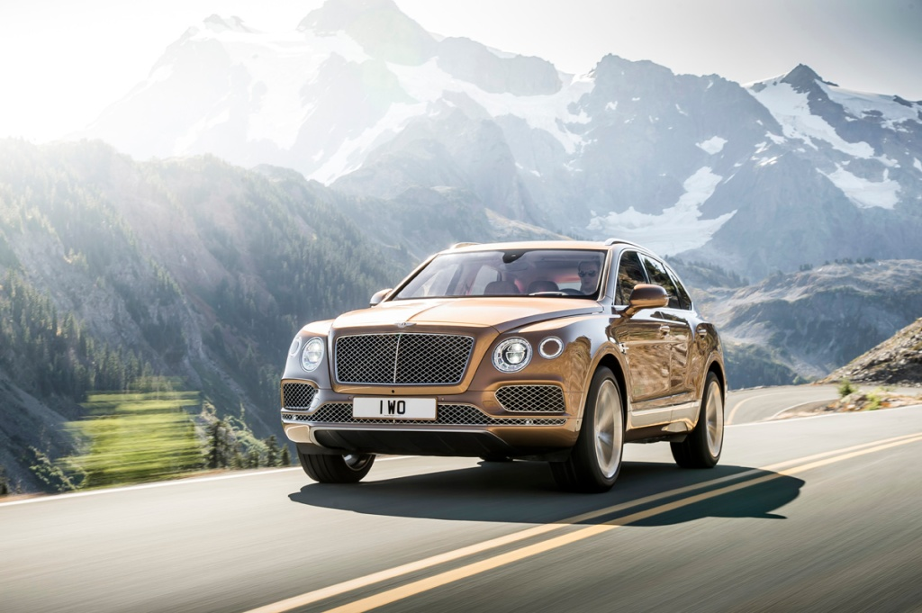 Bentley Bentayga Ön