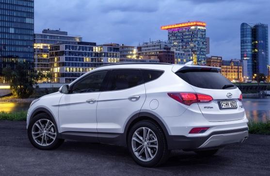 Hyundai Santa Fe Arka