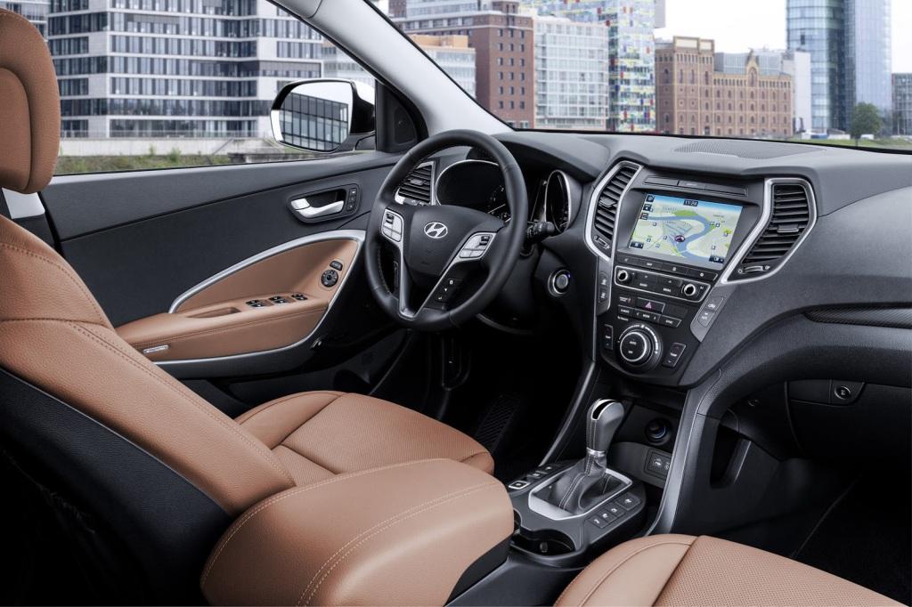 Hyundai Santa Fe İç