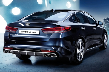 Kia Optima GT Arka