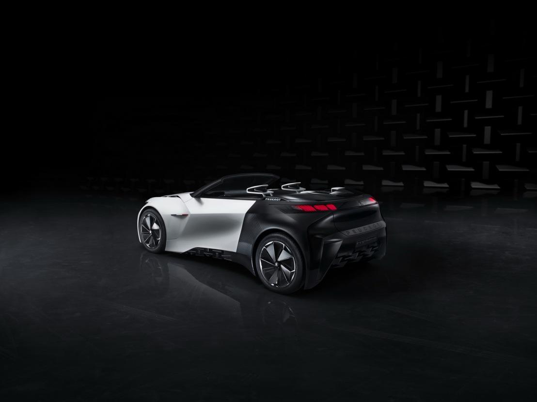 Peugeot Fractal Konsepti Arka 2