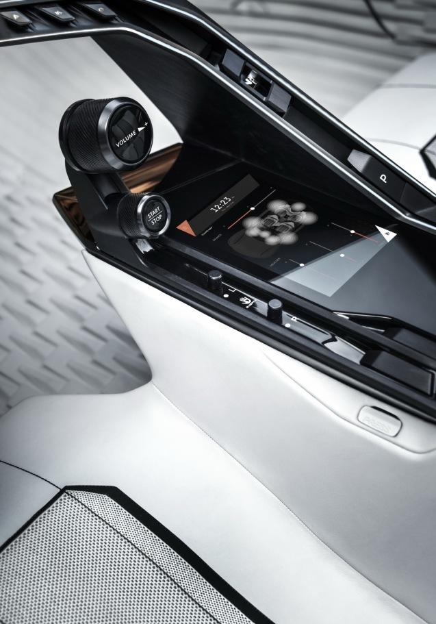 Peugeot Fractal Konsepti İç 3